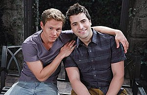Will Horton - Guy Wilson as Will, with Freddie Smith as Sonny.