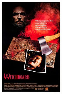 <i>Witchboard</i> 1986 film by Kevin S. Tenney