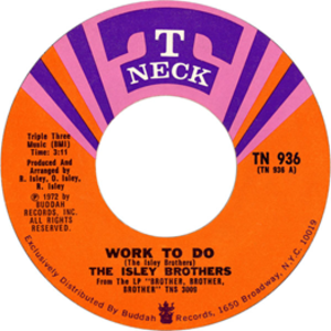 Work to Do - Image: Work to Do