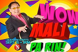 Wow Mali - Wow Mali Pa Rin logo from September 2013 - April 2014