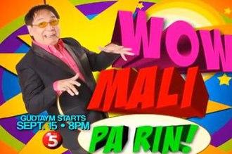 Wow Mali - Wow Mali Pa Rin logo from September 2013 - April 2014