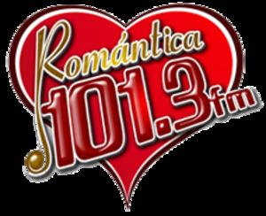 XHTQ-FM - Image: XHTQ Romantica 101.3 logo
