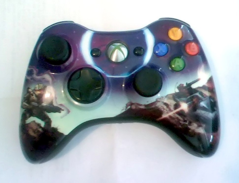 Xbox 360 controller - Howling Pixel