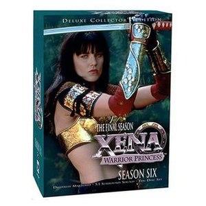 Xena: Warrior Princess (season 6) - Season 6 DVD cover