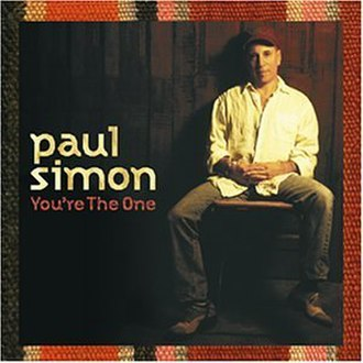 You're the One (album) - Image: You're the One (Paul Simon album cover art)