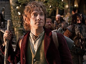 Bilbo Baggins - Martin Freeman as Bilbo Baggins in Peter Jackson's The Hobbit: An Unexpected Journey
