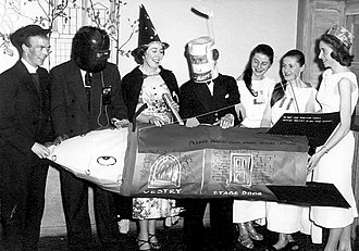 Young Conservatives (UK) - Young Conservatives fancy dress dance, mid 1950s