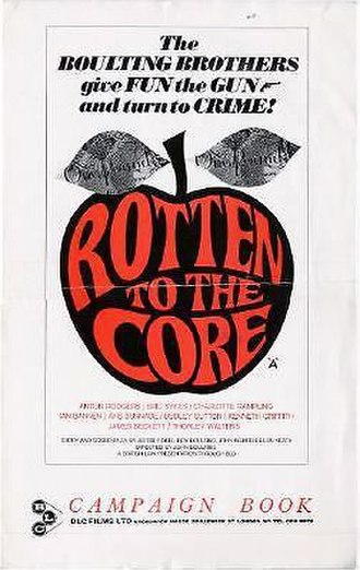 Rotten to the Core (film) - UK campaign book