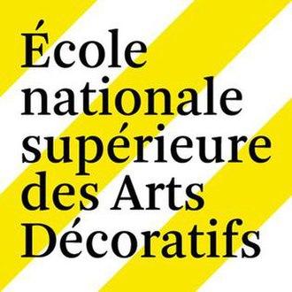 École nationale supérieure des arts décoratifs - Image: École nationale supérieure des arts décoratifs