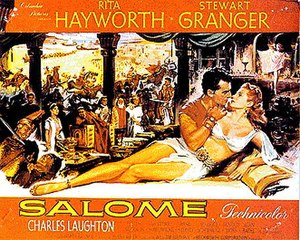 Salome (1953 film) - Original film poster