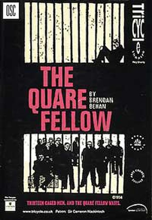 The Quare Fellow - Image: 1955 Quare Fellow (playbill)
