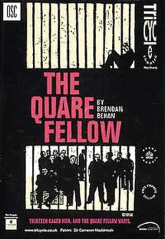 The Quare Fellow - Image: 1955 Quare Fellow (playbill)
