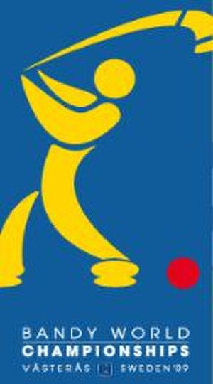 2009 Bandy World Championship - Image: 2009 Bandy World Championship logo