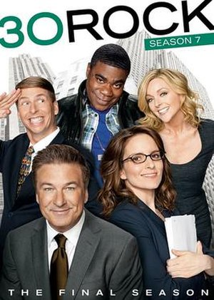 30 Rock (season 7) - DVD cover