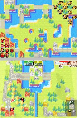 Advance Wars: Dual Strike - This campaign mission has two fronts. A different CO commands each army on each front.