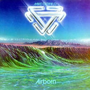 Platinum (Mike Oldfield album) - Airborn album cover, released in North America.