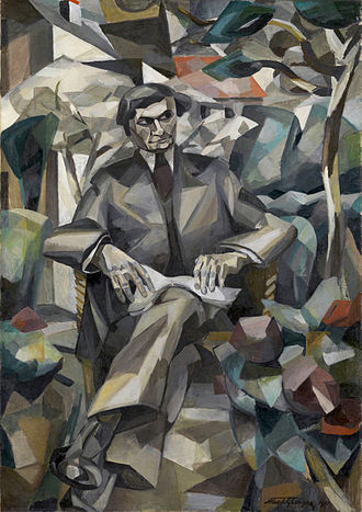 Albert Gleizes - Albert Gleizes, 1911, Portrait de Jacques Nayral, oil on canvas, 161.9 x 114 cm, Tate Modern, London. This painting was reproduced in Fantasio: published 15 October 1911, for the occasion of the Salon d'Automne where it was exhibited the same year.