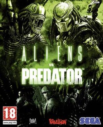 Aliens vs. Predator (2010 video game) - Image: Aliens vs Predator cover