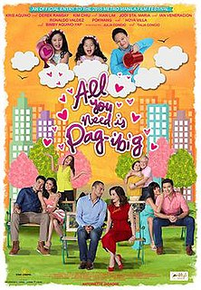 "<i>All You Need Is Pag-ibig</i> 2015 Filipino film directed by Antoinette Jadaone""`UNIQ--ref-00000000-QINU`"""