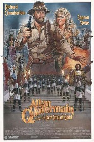 Allan Quatermain and the Lost City of Gold - Film poster