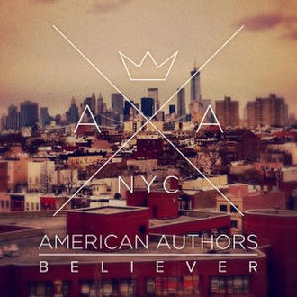 Believer (American Authors song) - Image: American Authors Believer