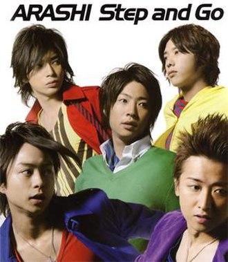 Step and Go - Image: Arashi 21 01 stepandgo