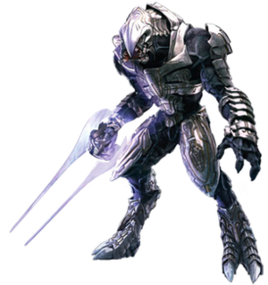 Arbiter (Halo) - The Arbiter Ripa 'Moramee, as he appears in Halo Wars