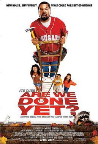 Are We Done Yet? - Theatrical release poster