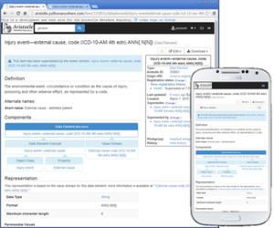 Aristotle Metadata Registry - Image: Aristotle mdr v 124 screenshot