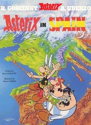 Asterix in Spain - Image: Asterixcover 14