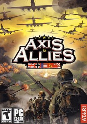 Axis & Allies (2004 video game) - Image: Axis & Allies (2004) Coverart