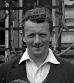 Basil Robinson (cricketer) - Image: Basil Robinson 1948