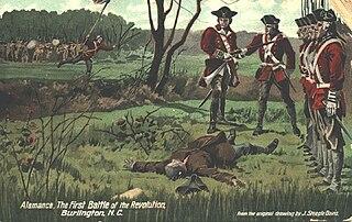 Battle of Alamance Final battle of the War of the Regulation