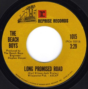 Deirdre (song) - Image: Beach Boys Long Promised Road & Deirdre