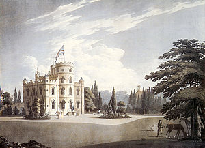 Belmont Castle - Belmont Castle depicted in 1797