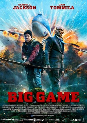 Big Game (2014 film) - Theatrical release poster