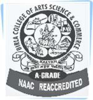 Birla College of Arts, Science & Commerce - Birla College logo