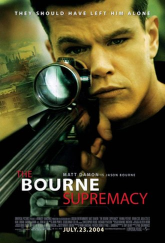 The Bourne Supremacy (film) - Theatrical release poster