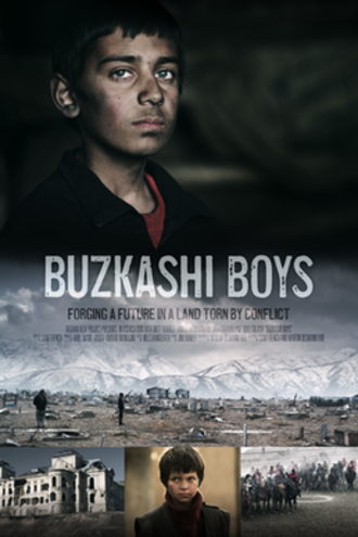 Buzkashi Boys - Film poster