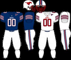2008 SMU Mustangs football team - Image: C USA Uniform SMU 2008