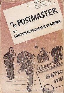 <i>C/O Postmaster</i> book by Thomas R. St. George