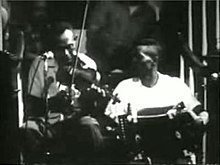 Canray Fontenot and Bois Sec playing at the Newport Folk Festival in 1966.
