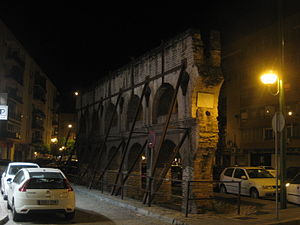 Nervión, Seville - Remains of the Roman aqueduct