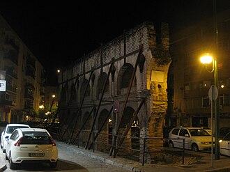 Nervión, Seville - Remains of the Roman aqueduct