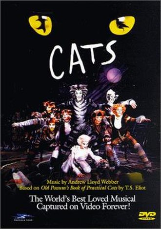 Cats (1998 film) - Image: Cats 1998 DVD Cover