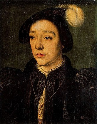 Charles II de Valois, Duke of Orléans - Charles, around 1543