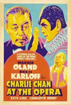 Charlie Chan at the Opera - Image: Charliechanopera