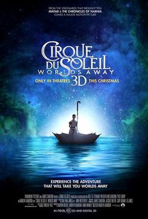 Cirque du Soleil: Worlds Away - Theatrical release poster