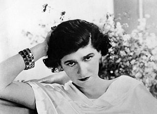 Coco Chanel French fashion designer