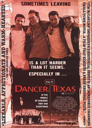 Dancer, Texas Pop. 81 - Promotional poster
